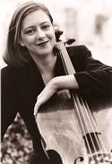 Alexandra Mackenzie plays the cello