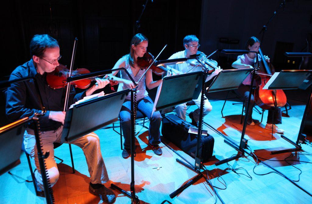 String Section performing at Cadogan Hall