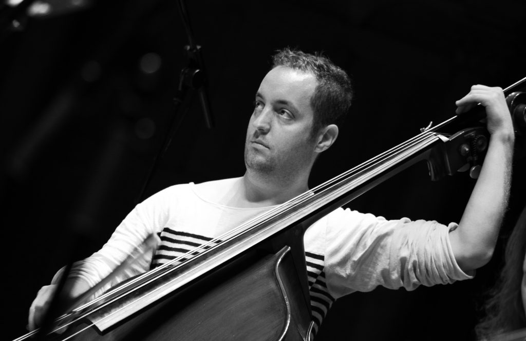 Ben Russell is freelance double bassist